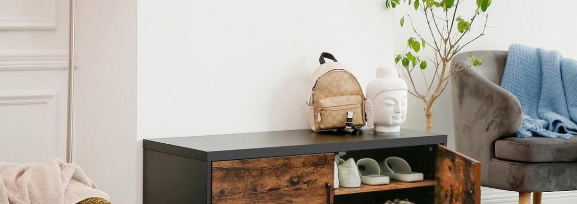 6 Ρουστίκ βιομηχανικού τύπου κομψά και πρακτικά έπιπλα για να κάνετε το χώρο της εισόδου σας το πιο ιδιαίτερο σημείο του σπιτιού!