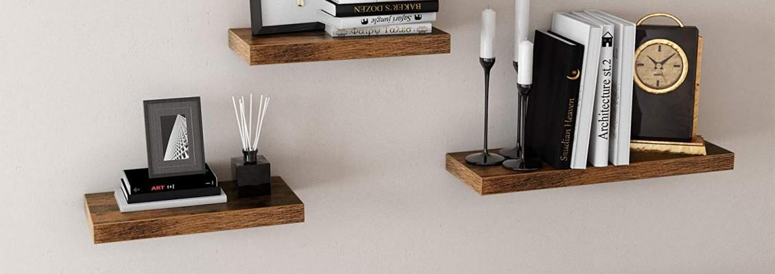 Ανανεώστε τη διακόσμηση του σπιτιού σας και διατηρήστε την οργάνωση του χώρου σας επιλέγοντας ιδιαίτερα και πρακτικά ράφια τοίχου!