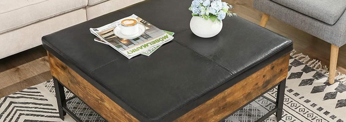 5 Μοναδικά coffee table που ταιριάζουν απόλυτα σε οποιοδήποτε σαλόνι για να κάνουν τις ώρες που περνάτε στο σπίτι ακόμα πιο άνετες και χαλαρές!