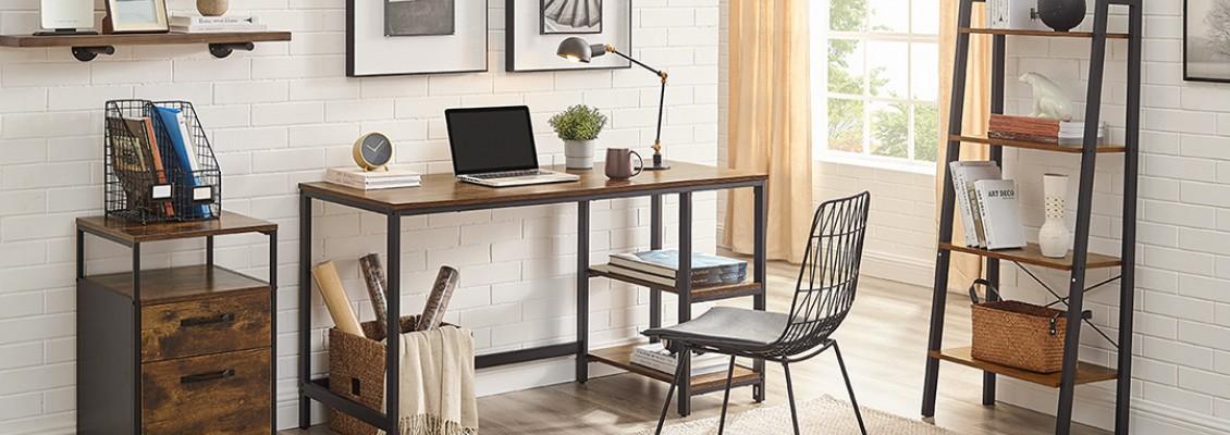 Δημιουργήστε ενα ιδανικό γραφείο στο σπίτι με υπέροχα ρουστίκ έπιπλα!
