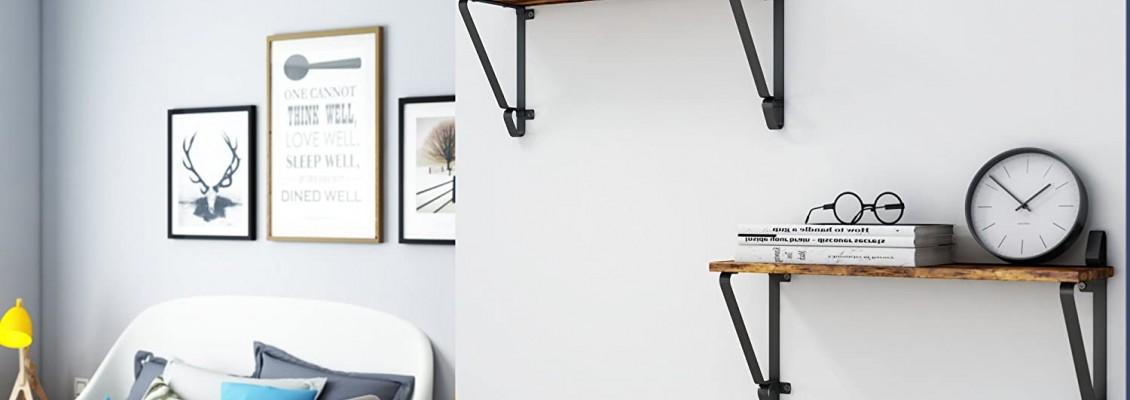5 Όμορφα και κομψά ράφια που θα δώσουν μια ιδιαίτερη πινελιά αισθητικής στο χώρο και θα ολοκληρώσουν τη διακόσμηση του σπιτιού σας!