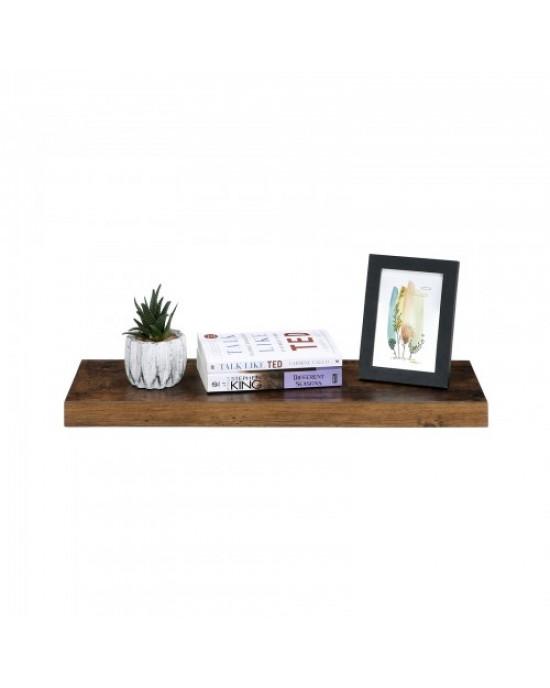 Ράφι Κρεμαστό με εμφάνιση ξύλου 60 x 20 x 3,8 cm Vintage - Sophia-LWS26BX